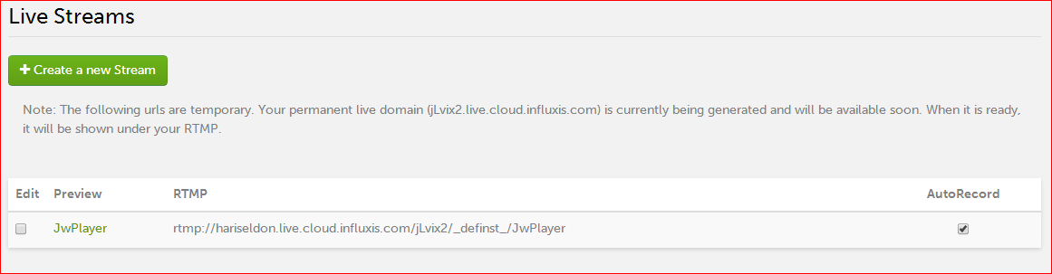 Broadcasting Live with Influxis and the JW Player – Influxis